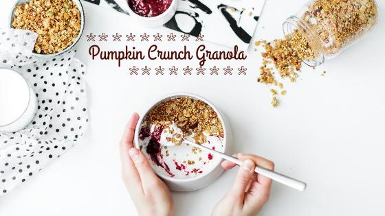 pumpkin crunch granola recipe
