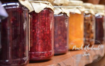 Peach Rhubarb Jam