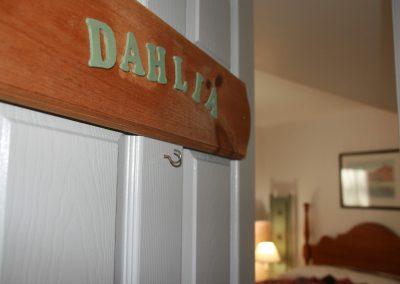 Dahlia Room Sign