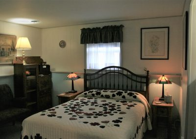 Lancaster Rose Guest Bedroom at Carriage Corner B&B
