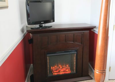 Electric Fireplace in the Lonestar Room