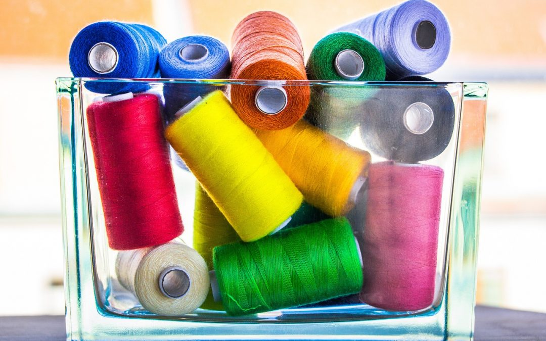 Spools of Thread for Sewing Camp