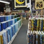 Huge Room of Quilt Fabric