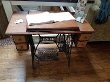 Pretty Singer Treadle greats Carriage Corner Guests when they arrive