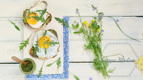 Cook Like You're Inspired:  Croque Madam