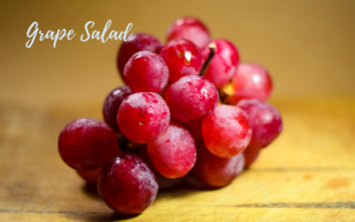 Cook Like You're Inspired:  Grape Salad
